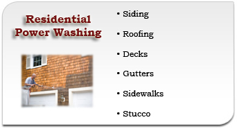 Plymouth Meeting Residential Power Washing Services